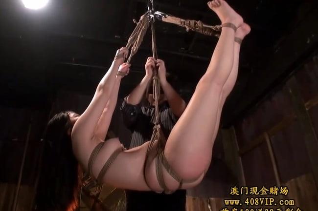 宮崎あや 肉厚美女が荒縄監禁拘束 身動きの取れない状況で鬼攻め潮吹き!