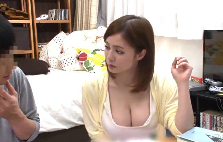 吉川あいみ 潮吹きSEX! 美人爆乳家庭教師が生徒に懇願され竿始め!