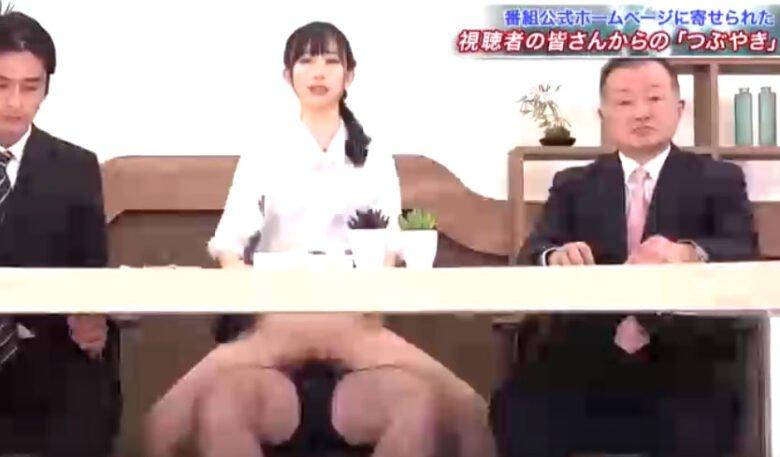 きみと歩実 富田優衣 黒川すみれ 美人女子アナが生放送中に騎乗位アクメ潮吹きSEX!!