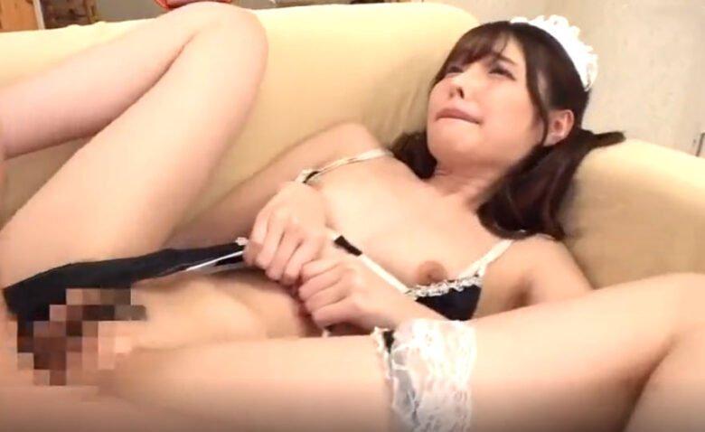 橋本ありな スレンダー美女がセクシーメイドコスで襲われまくり!激逝き潮吹きSEX!